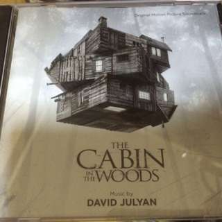 The Cabin In The Woods Soundtrack cd score.