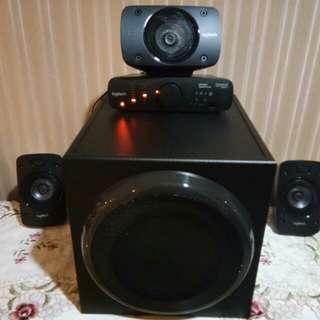 Logitech Z906 5.1 surround system THX