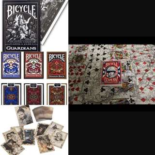Bicycle Poker Gambling Playing Cards! Rare And Collectible!