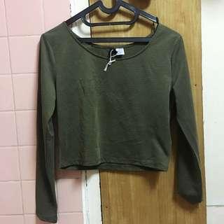 Cropped T-Shirt H&M