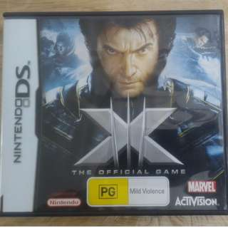 NDS X-Men: The Official Game
