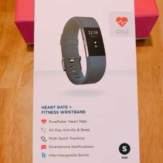 Fitbit Charge 2運動手環 全新未拆 便宜賣