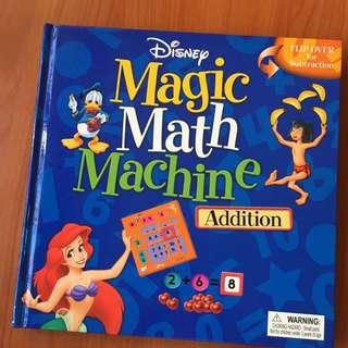Disney Magic Math Machine book