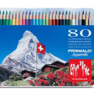 PRISMALO® AQUARELLE – ASSORTMENT OF 80 COLOURS