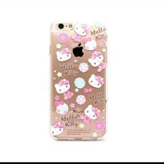 Hello kitty iPhone 7 電話殻(包郵)