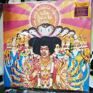 Jimi Hendrix Experience axis: as bold as love vinyl record LP