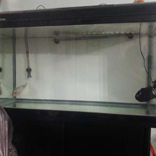 3ft Curved Fish Tank
