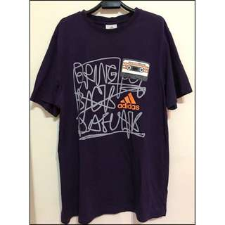 約7成新 愛迪達 ADIDAS 紫色短T恤 F尺寸