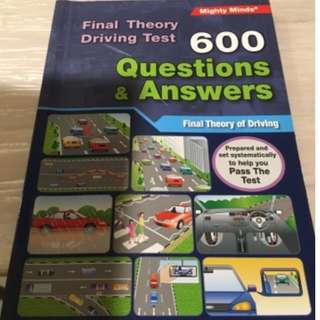 Final Theory Driving Test 600 Questions And Answers - FTT/ Mighty Minds