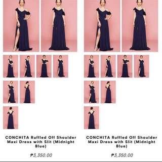 Long formal dress (Navyblue)