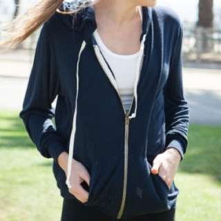 Brandy Melville Hooded Zip Up