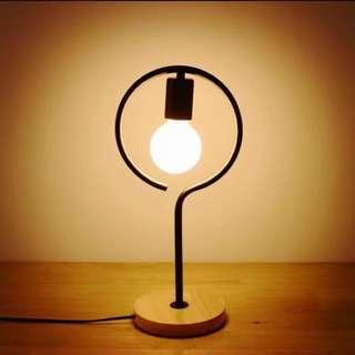 北歐 現代簡約 無印風 小檯燈 床頭燈 小夜燈 LED