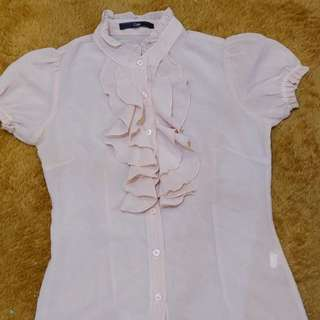 PinkyNude blouse