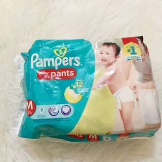 Pampers baby dry pants M9