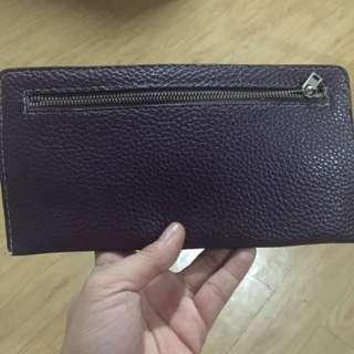Flat Wallet Color Violet