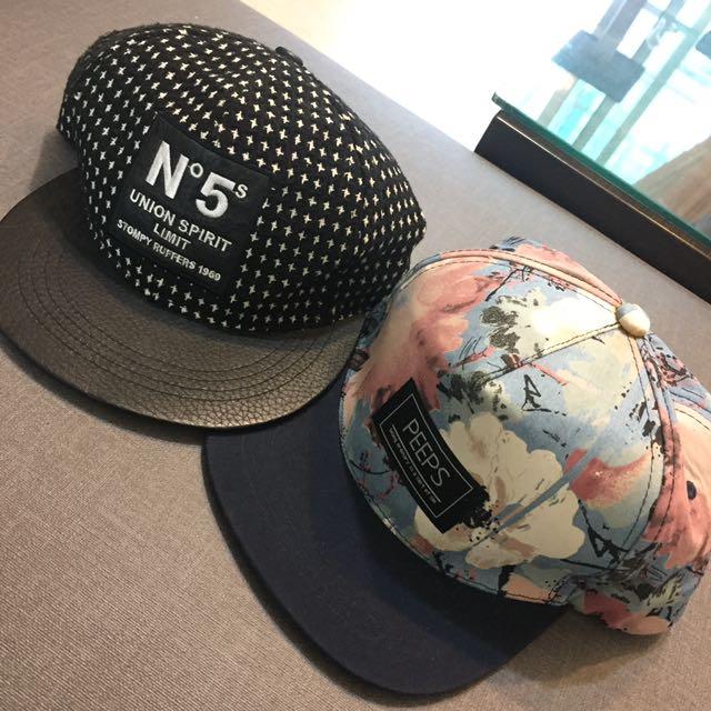 正韓棒球帽(黑點點)