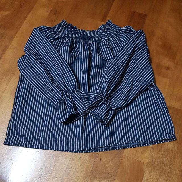 兩穿式七分袖上衣