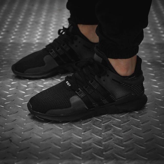 Adidas EQT Support ADV (Triple Black)