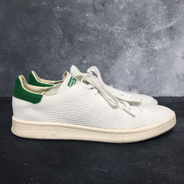 official photos d659f cdf97 Adidas Originals Stan Smith Primeknit Green