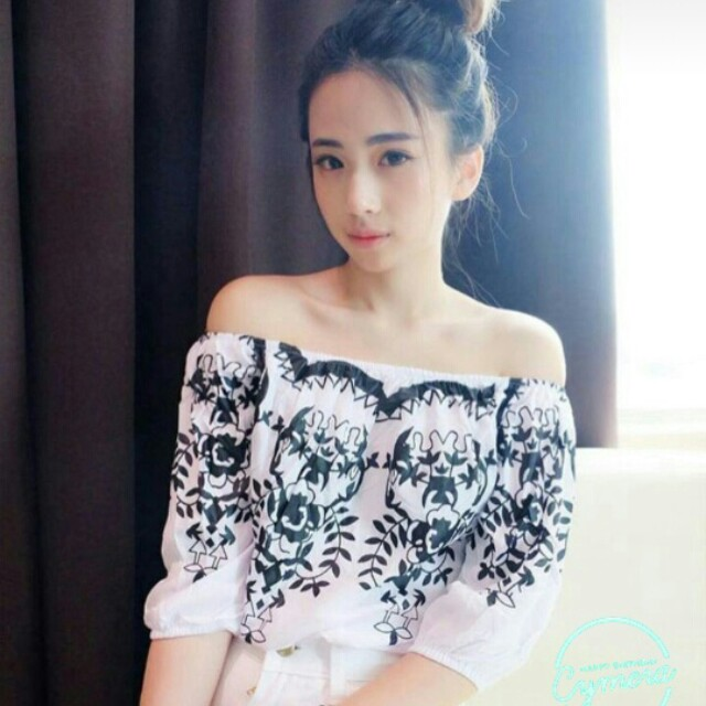 Atasan wanita blouse sabrina SAB 27