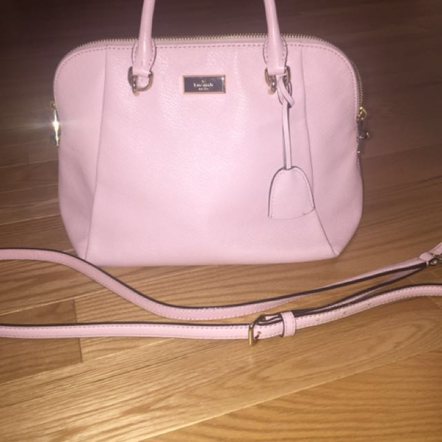 Authentic Kate Spade Baby/Light Pink purse + crossbody