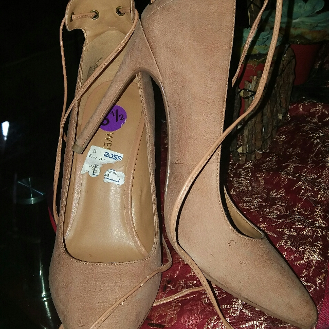 Authentic Ninewest High Heels With Strap