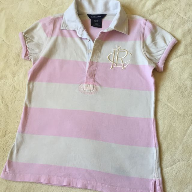 Authentic Polo Ralph Lauren girl shirt