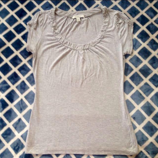Banana Republic Gray blouse