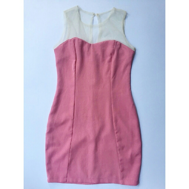 Bodycon Dress (Pink)