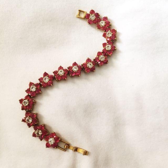Bracelet Gold Pink