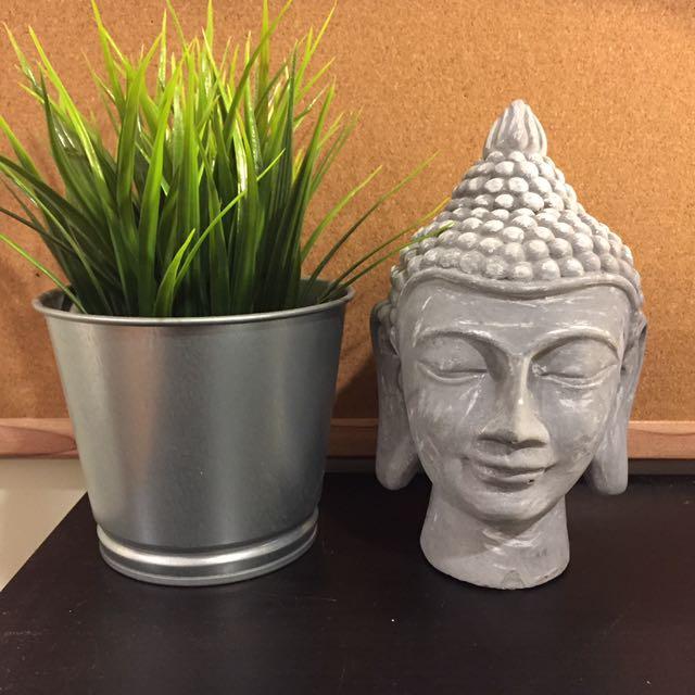 Buddha desk piece