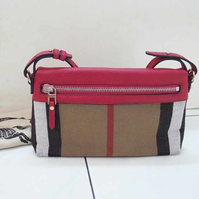 Burberry authentic sling bag tas asli original selempang