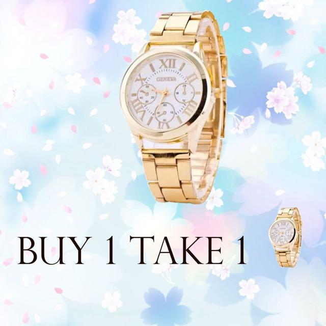 Buy 1 take 1‼️‼️ Geneva Classic Watch