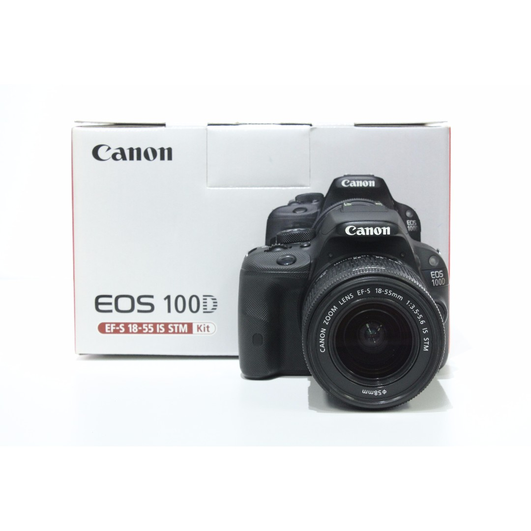 Canon Eos 100d Kit 18 55mm Is Stm Photography On Carousell Dslr Camera