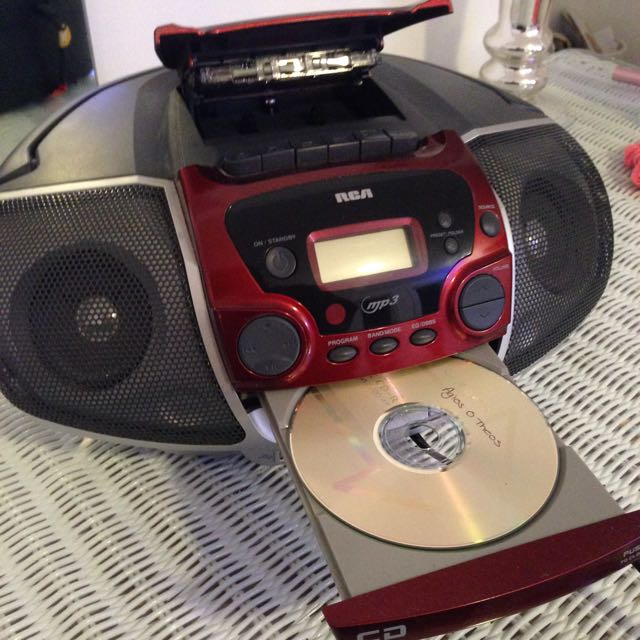 Cassette and CD player!!!!