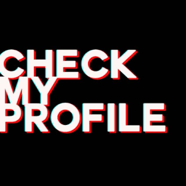 Check my profile