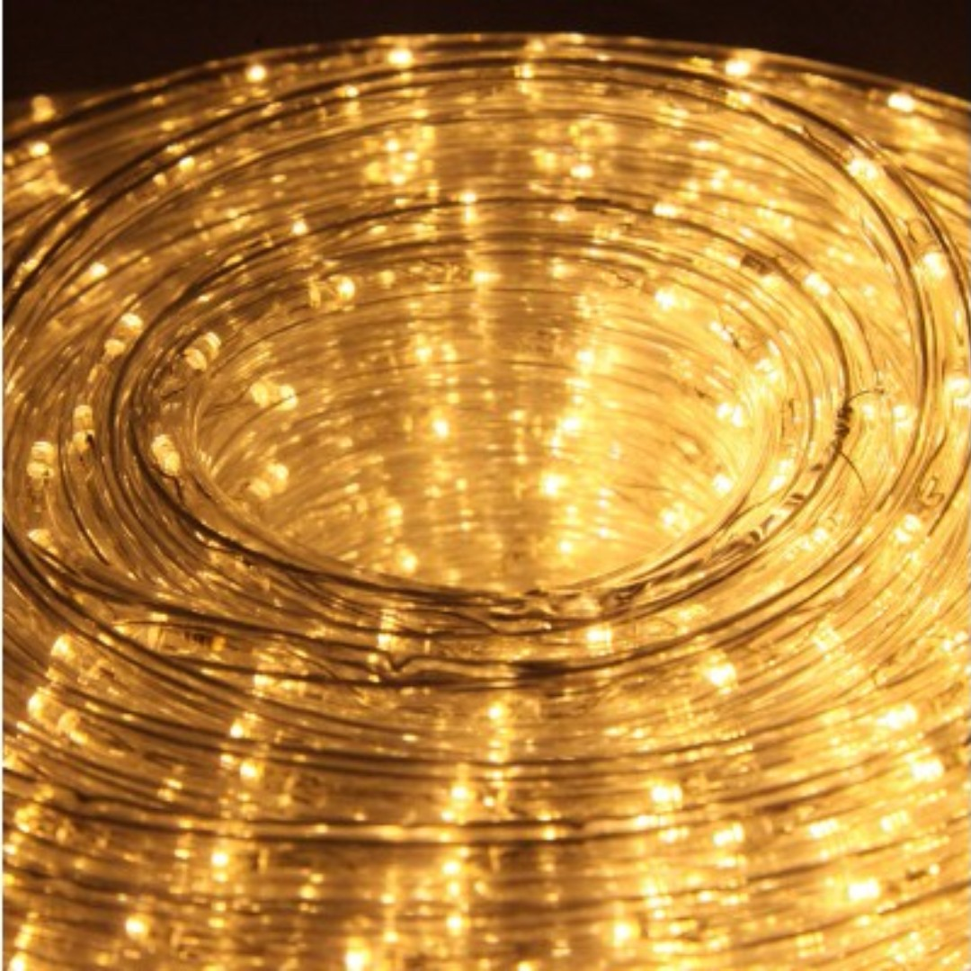 Christmas LED Rope Light - Warm White SKU: XMAS-ROPE-30M-WARM