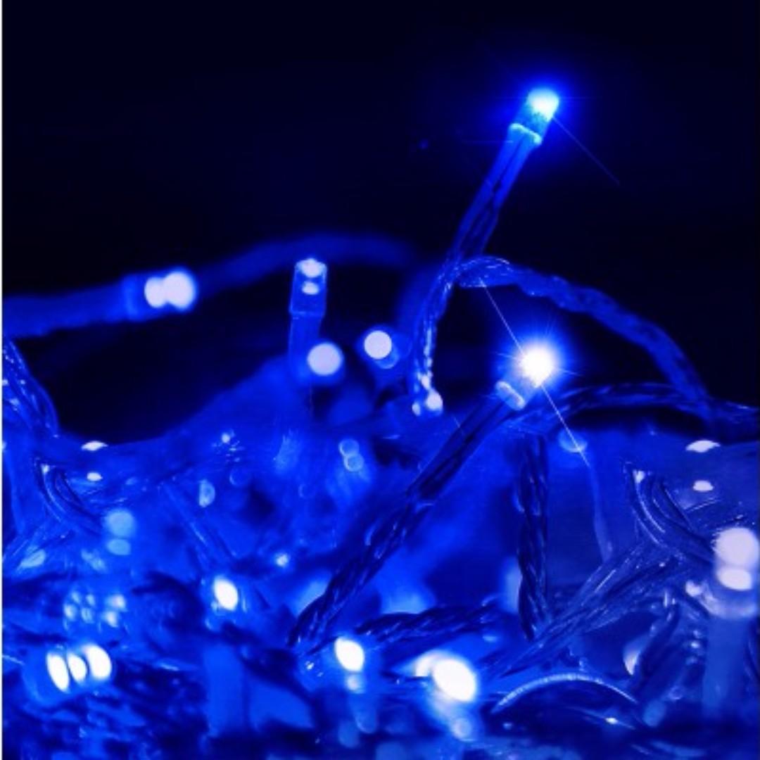 Christmas LED String Lights - Blue SKU: XMAS-ST250-50M-BU