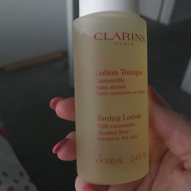 Clarins toning lotion 100ml