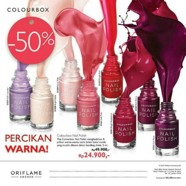 colourbox nail polish