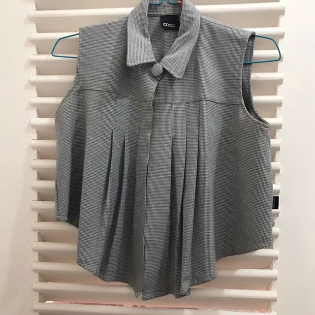 Cool - grey blazer