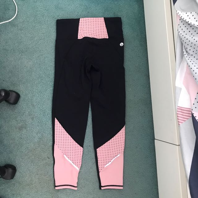 Cotton On Active Tights - Pink and Black