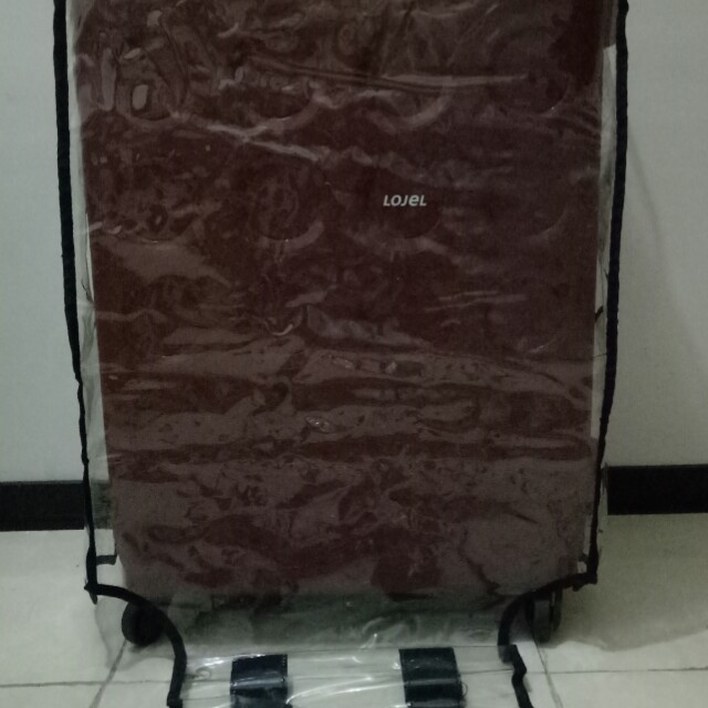 Cover Luggage / Pelindung Koper / Mika Plastik Koper Medium