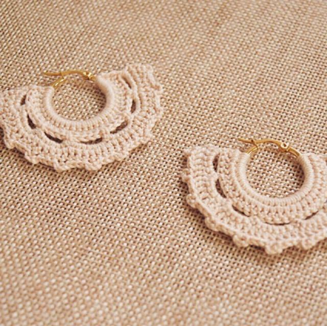 Crochet - Tassel Earrings