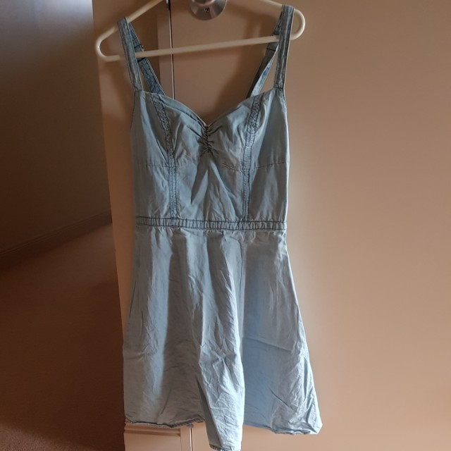 Denim summer dress