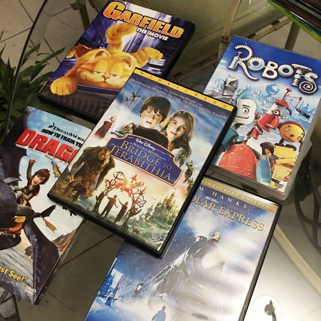 DVDs 5 Random Movies
