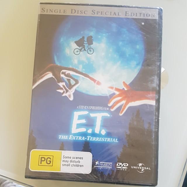 E.T DVD
