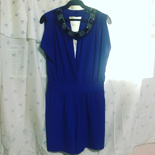 F21 Romper with details