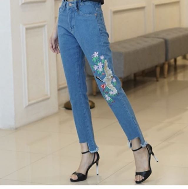 Flaming jeans import