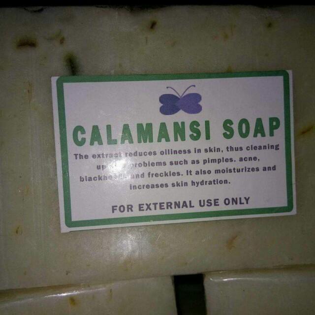 For Sale...!!!  Pure Calamansi Soap
